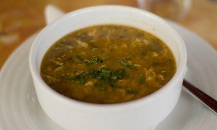 Soupe aux tomates et lentilles (Harira) (الحريرة)