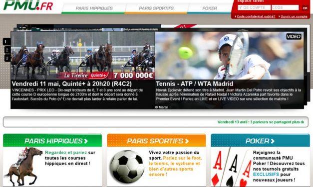 Pmu.fr : paris hippiques, paris sportifs et poker en ligne