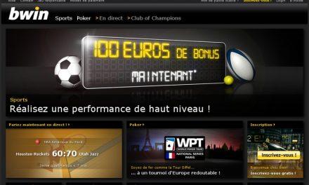 Bwin.fr : Paris sportifs et jeux de poker en ligne