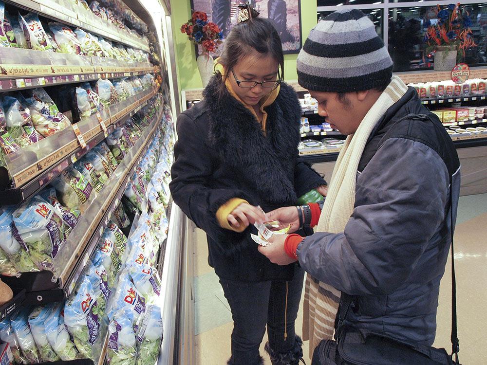 Utilisation des coupons dans un grand magasin