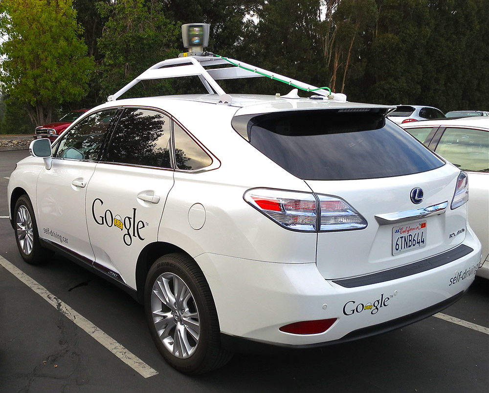 Photo d'une Google car