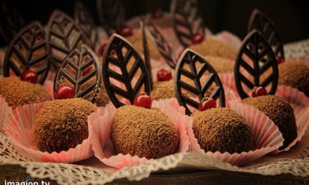 Truffes au chocolat et à la réglisse